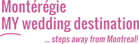 Montérégie, MY wedding destination Logo